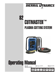 manual cutmaster 82 electric arc power supply