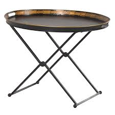 black metal butler tray table u2013 cowshed interiors