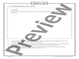 gas laws boyle u0027s law u2013 worksheet good science worksheets