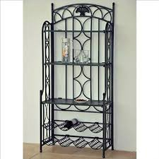 Metal Bakers Rack With Wine Storage Cheap Bakers Rack Wine Storage Find Bakers Rack Wine Storage
