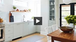 small kitchen makeover a contemporary take on country style