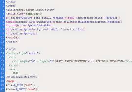 membuat ktp dengan html membuat aplikasi ktp menggunakan php dan html website pribadi melly