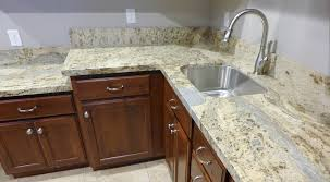 Kitchen Cabinet Wood Choices Granite Countertop Granite Kitchen Countertop And Backsplash