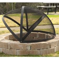Outdoor Firepit Cover Pits Outdoor Fireplaces Farm Garden Superstore