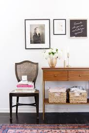 west elm entry table first impressions how to style an entryway monique mchugh