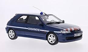 where is peugeot made peugeot 306 s16 gendamerie model car ready made ottomobile 1 18