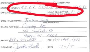 authorization letter to travel using credit card pci compliance u0026 credit card authorization forms don u0027t mix