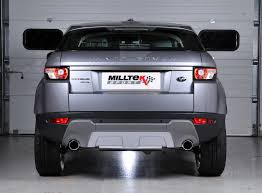 evoque land rover range rover evoque exhaust system