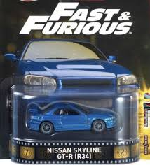 nissan skyline 2017 hotwheels retro 2017 entertainment f u0026f nissan skyline gt r r34