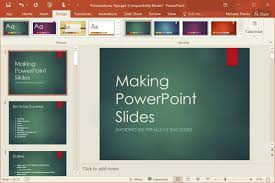 change template of a presentation powerpoint how to change