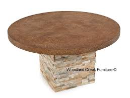 stone outdoor table