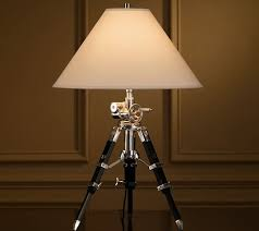 Restoration Hardware Table Lamps Restoration Hardware Royal Marine Tripod Table Lamp Archives