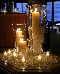 candle centerpiece wedding wedding diamond confetti candle centerpiece decoration