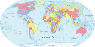 World Map 1500 by Carte Du Monde Pour Enfant 4 Jpg 1500 757 Mundi Pinterest