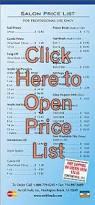 no lift nails salon price list