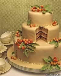 wedding cake recipes cherry almond cake
