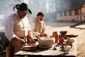 jamestown settlement prepares colonial thanksgiving feast
