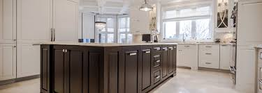 classic style kitchen with island ateliers jacob calgary