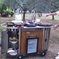 cuisine mobile professionnelle cuisine en inox professionnelle mobile d extérieur bongos