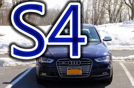 regular car reviews 2013 audi s4 youtube