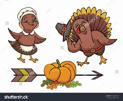 thanksgiving day vector illustration turkey stock vector
