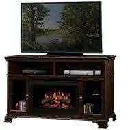 Electric Fireplaces Amazon by Dimplex Symphony Media Bennett Tv Stand With Electric Fireplace In