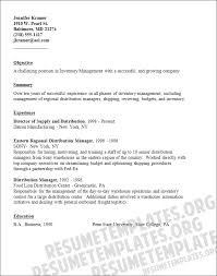 Warehouse Resume Template Download Distribution Manager Sample Resume Haadyaooverbayresort Com