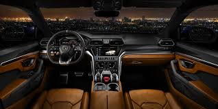inside lamborghini at night 2018 lamborghini urus revealed