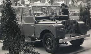 first land rover land rover bows in amsterdam