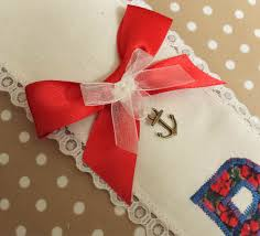 Red Sash Red White And Blue Hen Party Bride Sash Vintage Twee