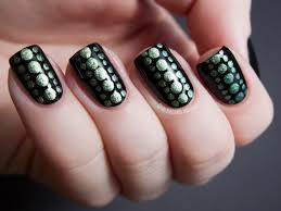 polka dot inspired nail art ayesha blog