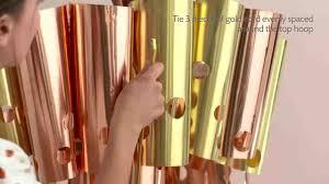 Midwest Chandelier Company Video Metallic Chandelier How To Martha Stewart