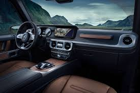 luxury jeep interior 2018 detroit motor show mercedes benz g class shows off its luxury