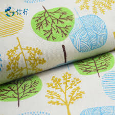 Diy Sofa Cover by Online Shop 50 150cm Printed Cotton Linen Fabric For Patchwork