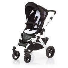 abc design combi stroller mamba phantom frame white black - Abc Design Mamba