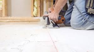 how to cut through subfloor plywood or osb subfloor which is better