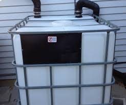 heavy duty 275 gallon rain barrel 4 steps with pictures