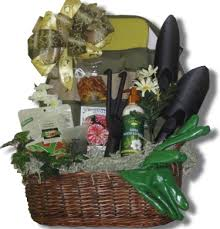 garden gift basket gift baskets gardening summer springtime easter