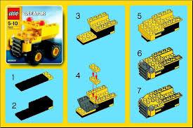 truck instructions instructions for 7603 1 dump truck bricks argz com