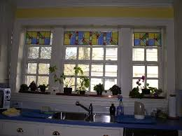 faux stained glass kitchen cabinets stained glass kitchens looking at glass