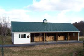 minimalist nice design of the red small horse barn plans that can