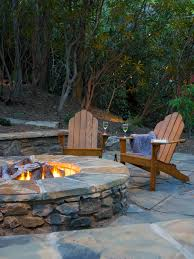 Concrete Fire Pit by Brick And Concrete Fire Pits Hgtv