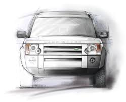 land rover lr3 white land rover illustrations on behance