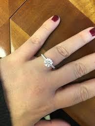circle engagement ring real engagement rings diamonds weddingbee