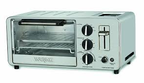Toast In Toaster Oven Amazon Com Waring Wto150 4 Slice Toaster Oven With Built In 2