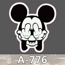 Mickey Home Decor Cute Mickey Mouse Waterproof Stickers For Home Decor Travel