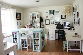 craft desk with storage unit artwork writing corner l shaped