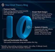 u0026 gold silicone wedding band for men u0026 women u2013 knot theory
