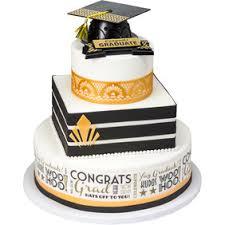 decopac modern gatsby stacked graduation cake