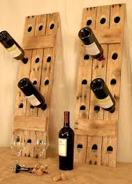 riddling wine racks in reclaimed wood the alternative consumer